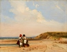 Coast Scene, Trouville, Normandy -