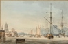 The Embarkation of Caroline of Brunswick on board the Jupiter at Cuxhaven 1795 -