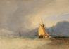 Boats off the Coast, a Storm approaching -