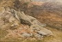 A Rocky Hillside, North Wales -