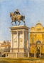 The Colleoni Statue and the Church of San Giovanni e Paolo, Venice -