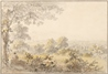 Landscape with Figure and Cattle -