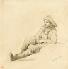Study of a Fisherman -