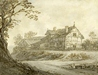 Study of a Manor House -