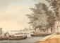 On the Thames at Barnes, London -
