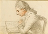 Study of a Man reading -