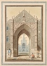 Erpingham's Gate and the West End of Norwich Cathedral, Norfolk -