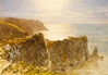 View on the Devon Coast -