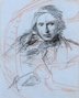 Portrait Study of John Ruskin -