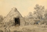 A Hovel by a rural Road   -